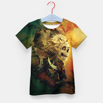 Thumbnail image of Skull Lord III Kid's T-shirt, Live Heroes