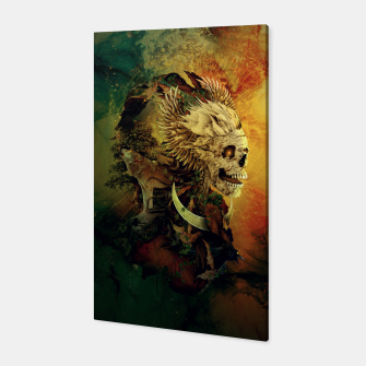 Thumbnail image of Skull Lord III Canvas, Live Heroes