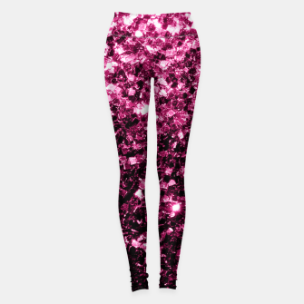 Thumbnail image of Beautiful Pink glitter sparkles Leggings, Live Heroes