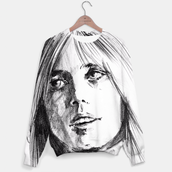 Thumbnail image of Tom Petty memory bw yulia a korneva Sweater, Live Heroes