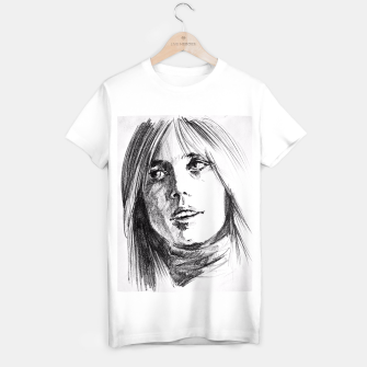 Thumbnail image of Tom Petty memory bw yulia a korneva T-shirt regular, Live Heroes
