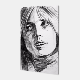 Thumbnail image of Tom Petty memory bw yulia a korneva Canvas, Live Heroes