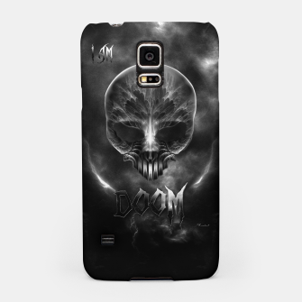 Thumbnail image of I Am Doom Fractal Skull Shadow Clouds Samsung Case, Live Heroes
