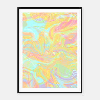 Miniatur Psychedelia Framed poster, Live Heroes
