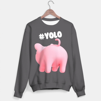 Rosa the Pig #YOLO  Sweater thumbnail image