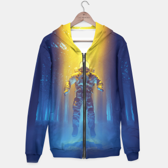 Miniatur Forest Flux Hoodie, Live Heroes
