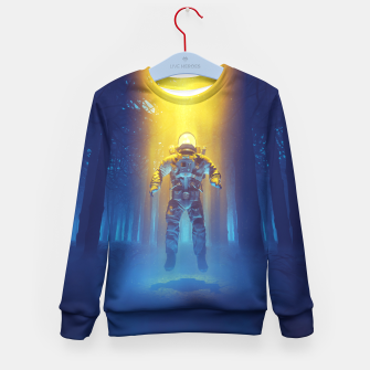 Miniatur Forest Flux Kid's Sweater, Live Heroes