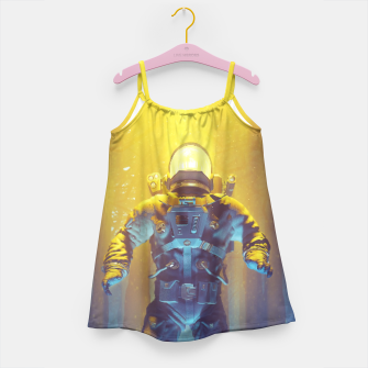 Miniatur Forest Flux Girl's Dress, Live Heroes