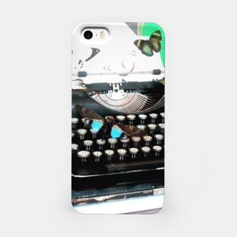 Thumbnail image of Typewriter Étui pour Iphone, Live Heroes