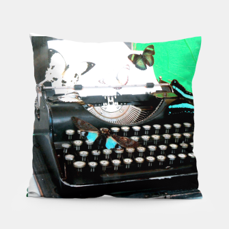 Thumbnail image of Typewriter Coussin, Live Heroes