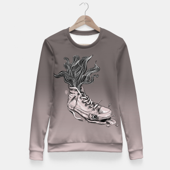 Miniaturka Tired Sneaker Fitted Waist Sweater, Live Heroes