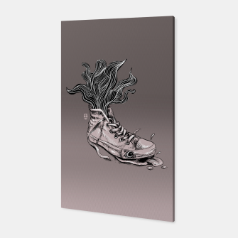 Miniatur Tired Sneaker Canvas, Live Heroes