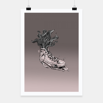 Miniaturka Tired Sneaker Poster, Live Heroes