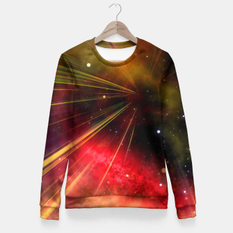 Thumbnail image of Space Rider  Taillierte Sweatshirt, Live Heroes