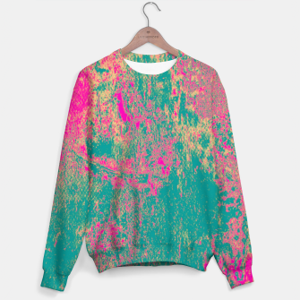 Miniatur Colorful Abstract Sweater, Live Heroes