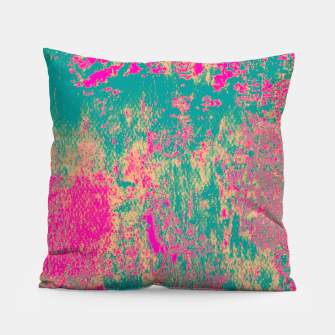 Thumbnail image of Colorful Abstract Pillow, Live Heroes