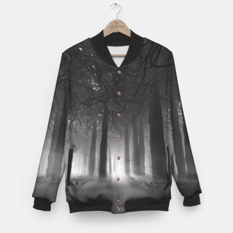 Miniatur Soul of the Forest B&W Baseball Jacket, Live Heroes