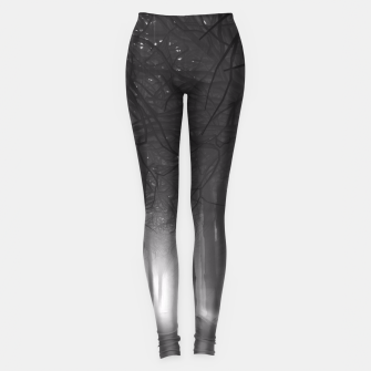 Miniatur Soul of the Forest B&W Leggings, Live Heroes
