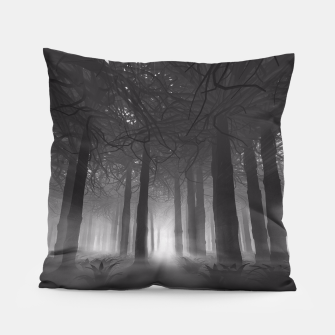 Miniatur Soul of the Forest B&W Pillow, Live Heroes