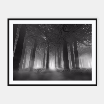 Miniatur Soul of the Forest B&W Framed poster, Live Heroes