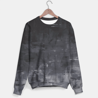 Miniatur Black Ombre Artsy Sweater, Live Heroes