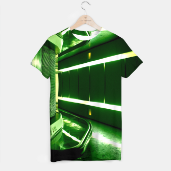 Thumbnail image of Martian Artmosphere T-shirt, Live Heroes