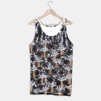 Miniatur Palm Trees with Lava  Tank Top, Live Heroes