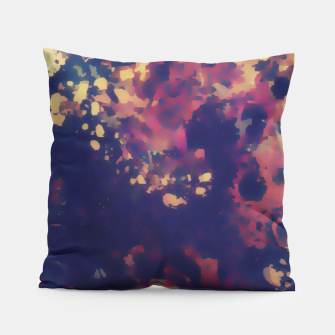 Thumbnail image of Flowery Abstract Pillow, Live Heroes