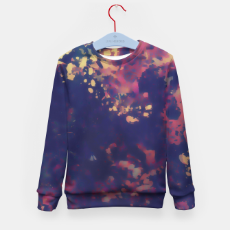 Thumbnail image of Flowery Abstract Kid's Sweater, Live Heroes