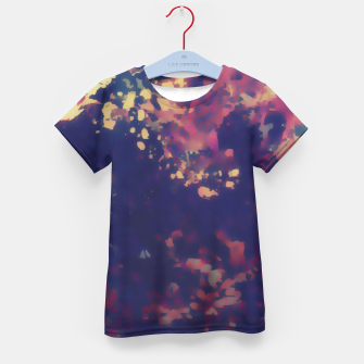 Thumbnail image of Flowery Abstract Kid's T-shirt, Live Heroes