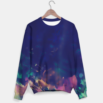 Thumbnail image of Flowery Abstract Pastel Sweater, Live Heroes