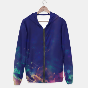 Thumbnail image of Flowery Abstract Pastel Hoodie, Live Heroes