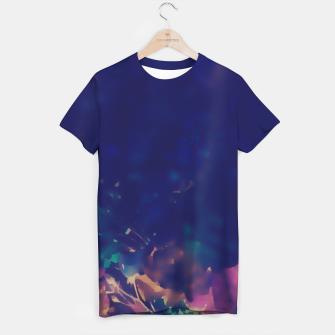 Thumbnail image of Flowery Abstract Pastel T-shirt, Live Heroes
