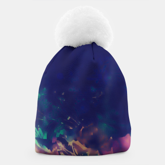 Thumbnail image of Flowery Abstract Pastel Beanie, Live Heroes