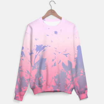 Thumbnail image of Flowery Ombre Sweater, Live Heroes