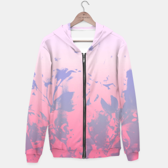 Thumbnail image of Flowery Ombre Hoodie, Live Heroes