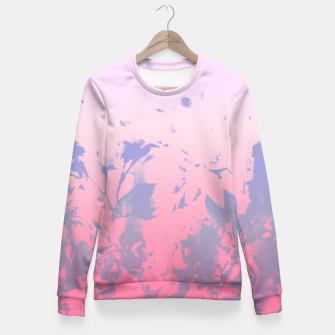 Thumbnail image of Flowery Ombre Fitted Waist Sweater, Live Heroes