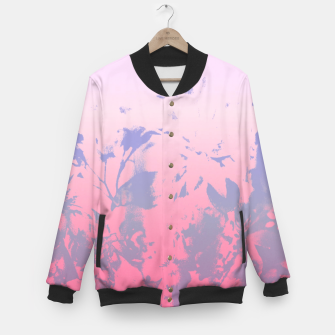 Thumbnail image of Flowery Ombre Baseball Jacket, Live Heroes