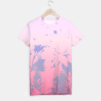 Thumbnail image of Flowery Ombre T-shirt, Live Heroes