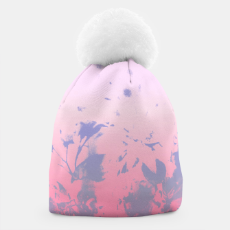 Thumbnail image of Flowery Ombre Beanie, Live Heroes