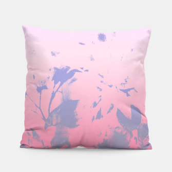 Thumbnail image of Flowery Ombre Pillow, Live Heroes