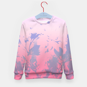 Thumbnail image of Flowery Ombre Kid's Sweater, Live Heroes
