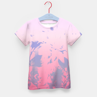Thumbnail image of Flowery Ombre Kid's T-shirt, Live Heroes