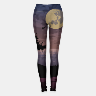Thumbnail image of Castle in the night Leggings, Live Heroes