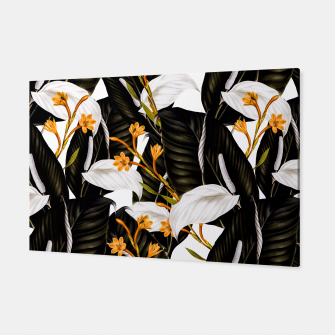 Thumbnail image of Exotic botanical pattern 02 Canvas, Live Heroes