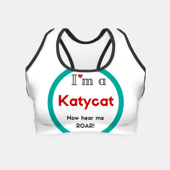 Thumbnail image of I'm a KatyCat now hear me Roar KatyPerry Crop Top, Live Heroes