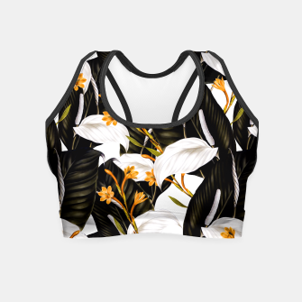 Thumbnail image of Exotic botanical pattern 02 Crop Top, Live Heroes
