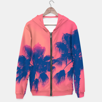 Thumbnail image of Sunset Palmtrees Hoodie, Live Heroes