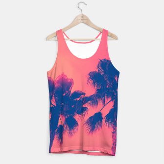 Thumbnail image of Sunset Palmtrees Tank Top, Live Heroes