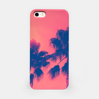 Thumbnail image of Sunset Palmtrees iPhone Case, Live Heroes